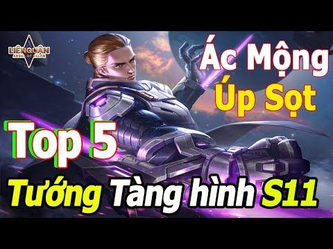 Liên quân mobile Top 5 Tướng Tàng Hình là Ác Mộng của Xạ Thủ và chủ lực team địch | TNG