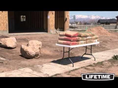 Table de jardin pliante - LIFETIME