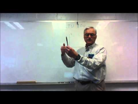 Statics: Using the Right Hand Rule to find the Direction of 3D Axes and Moments