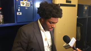 """Jalen Ramsey's response to the coverage breakdowns vs. Colts - 'Things happen."""""""
