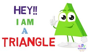 Objects with Triangle shape   Triangle Shape for kids    Learning Triangle Shape Names With Picture