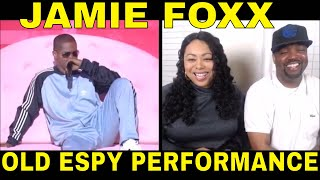 JAMIE FOXX SERENADES SERENA WILLIAMS REACTION