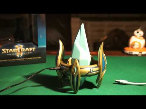 StarCraft Protoss Pylon USB Charger Unboxing