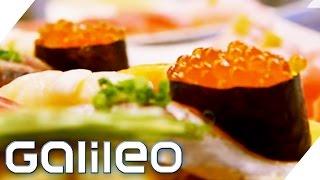 Japan: Sushi und andere Spezialitäten | Galileo | ProSieben