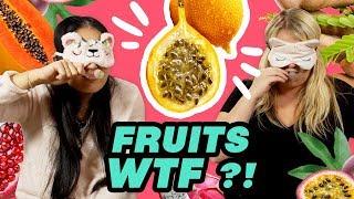 DÉGUSTATION DE FRUITS EXOTIQUES ! avec Lola Dubini et Yoko-Nailart