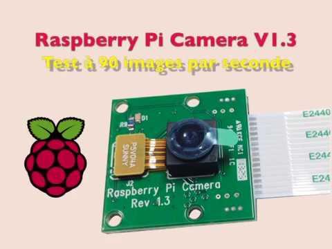 Raspberry Pi Camera V1 3 test slow motion 90 fps