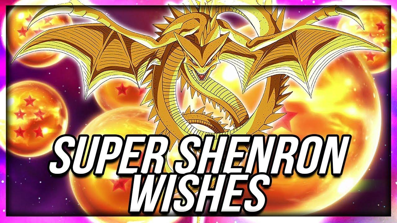 Super Shenron Wishes Coming Super Dragon Balls On Dokkan Dragon Ball Z Dokkan Battle Youtube