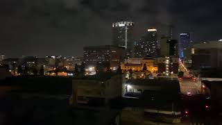 SKYLINE ROOFTOP   DTLA Night View
