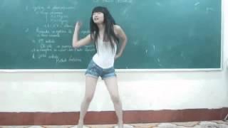 WEBCAM   SEXY KOREAN DANCING   ABG BERGOYANG HOT 9   BLACK QUEEN   Jkt484  Dangdut koplo Jkt484