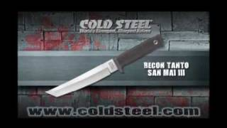 Recon Tanto in San Mai III Blade : Cold Steel Knives