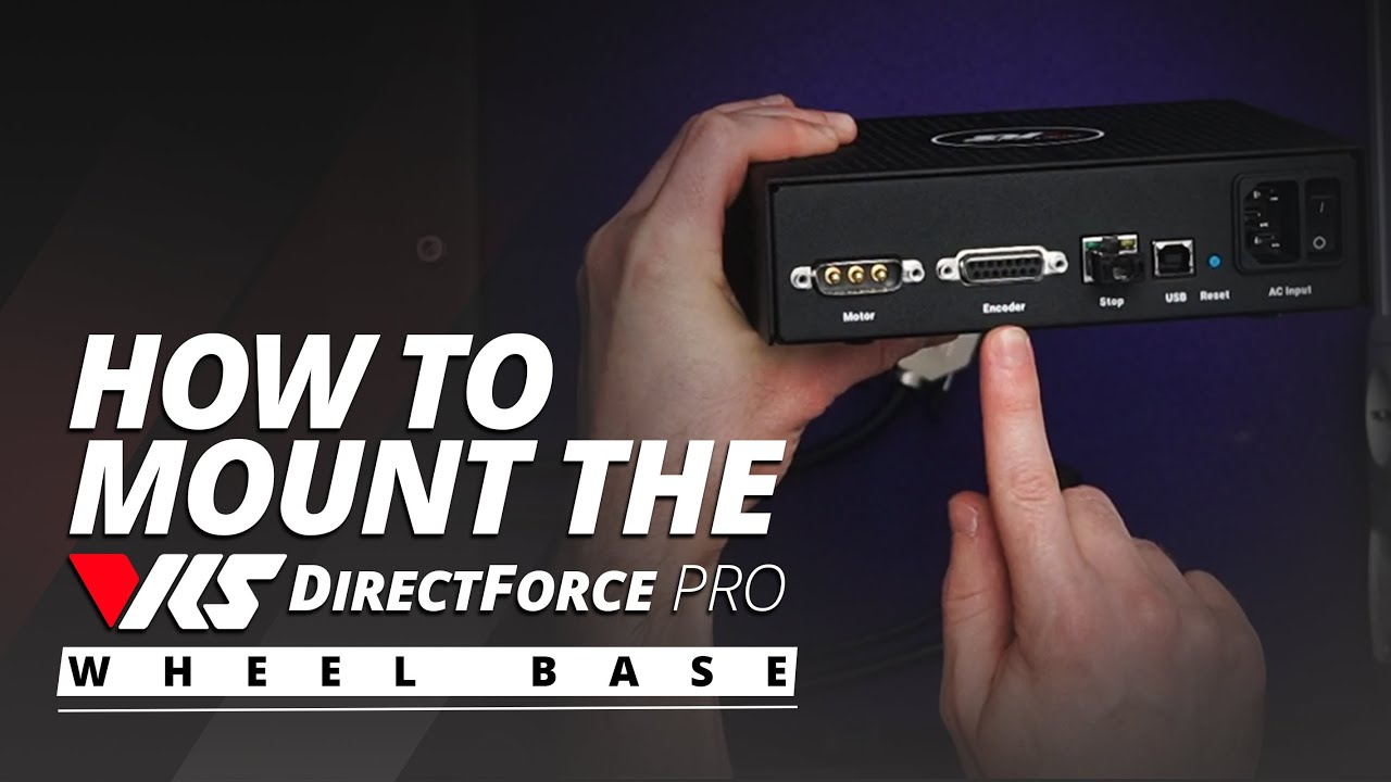Download How To Mount the VRS DirectForce Pro Wheel Base