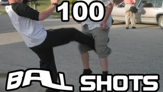 Repeat youtube video 100 Movie Ball Shots & Groin Attacks - Supercut