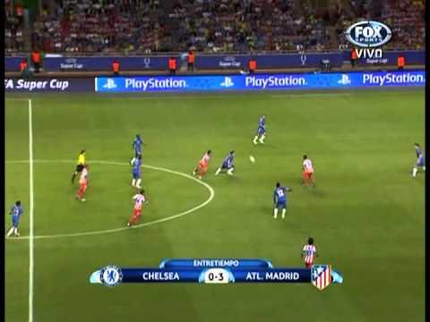 hat-trick Falcao 3 Chelsea 0