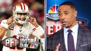49ers QB Jimmy Garoppolo can't be trusted, says Rodney Harrison | Pro Football Talk | NBC Sports