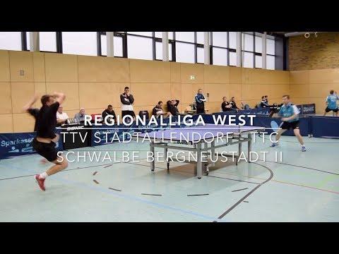 Regionalliga West   TTV Stadtallendorf - TTC Schwalbe Bergneustadt II   Highlights