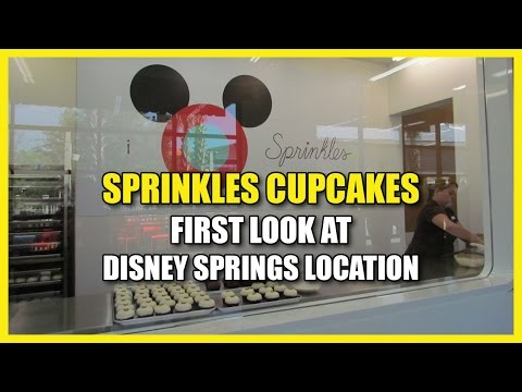Sprinkles Cupcakes at Disney Springs Preview