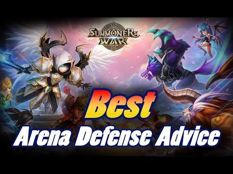 SUMMONERS WAR - Fwa's Arena Defense Advice