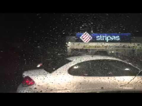 Hail Storm in Laredo, Texas.