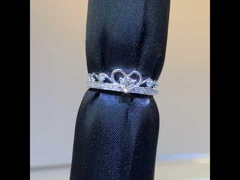 【LOVES鑽石批發】皇家甜心-唯美浪漫夢幻款 天然鑽石戒指【1元起標無底價】另售GIA 彩鑽 婚戒 鑽戒 對戒