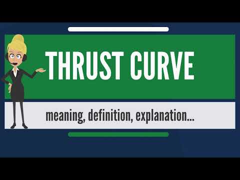 What is THRUST CURVE? What does THRUST CURVE mean? THRUST CURVE meaning, definition & explanation
