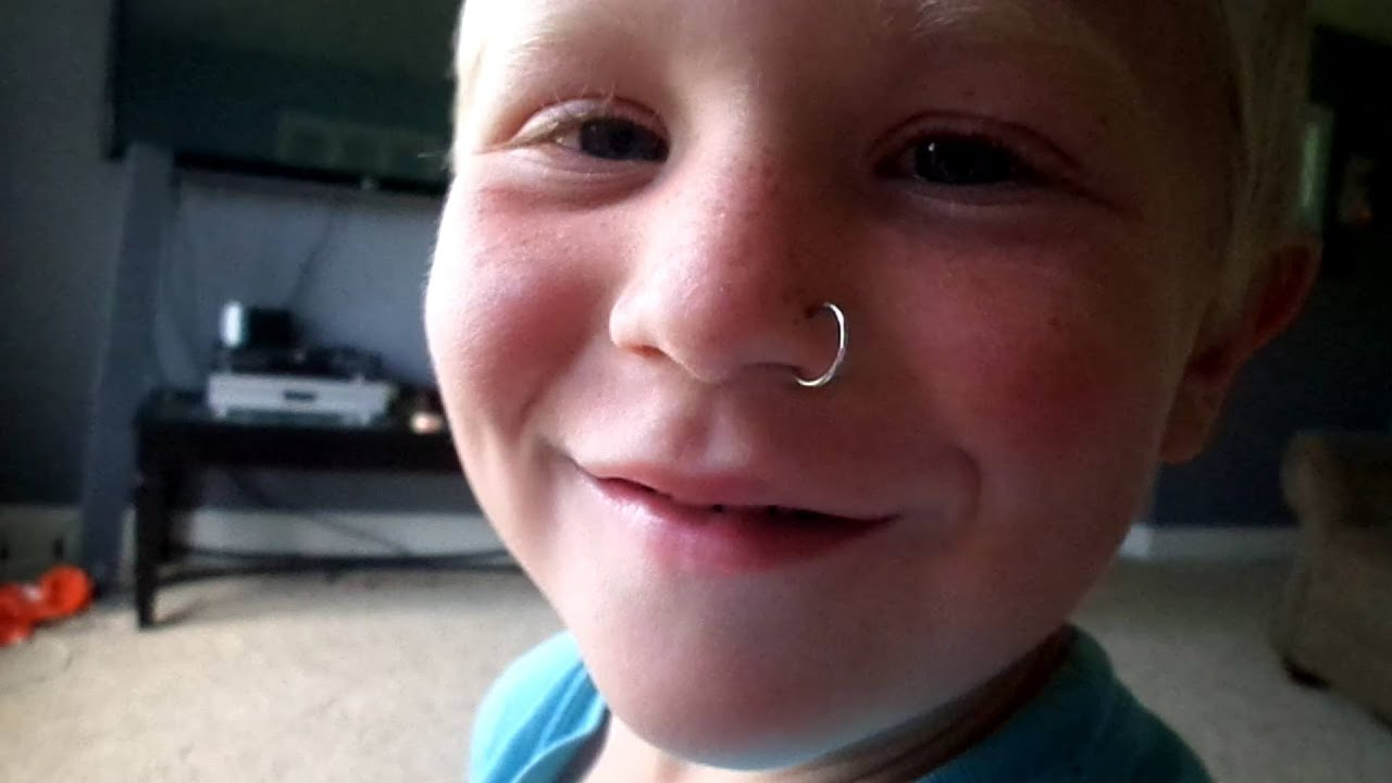 KID GETS NOSE PIERCED?! (Day 91 - 7.21.14) - YouTube