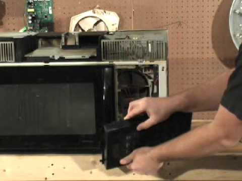 GE Spacemaker Microwave Magnetron Tube Replacement - YouTube