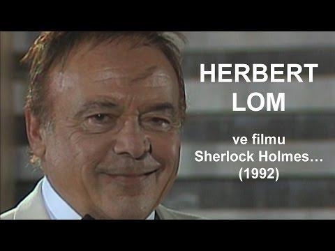 Unikátní záběry: Inspektor Dreyfus a Dagmar Veškrnová ve filmu Sherlock Holmes…