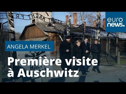 Angela Merkel pour la première fois à Auschwitz