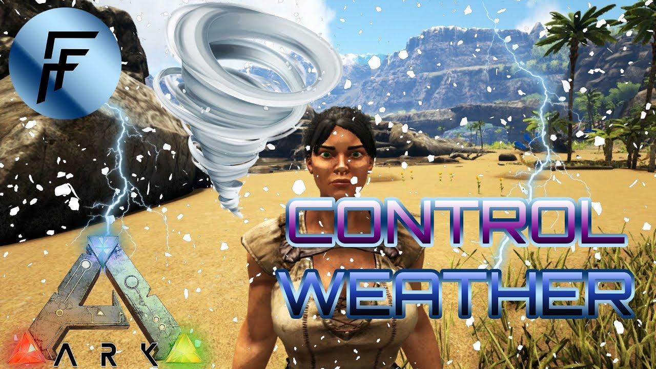 Weather Admin Commands - ARK: Survival Evolved