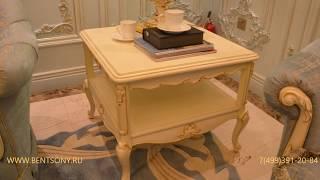 """Видео обзор: Классический маленький журнальный стол """"Митчел A"""", массив дерева"""
