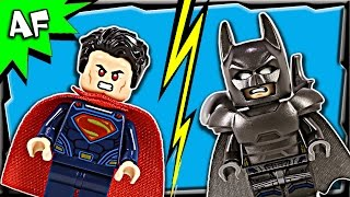 Lego Batman V Superman CLASH OF HEROES 76044 Stop Motion Build Review