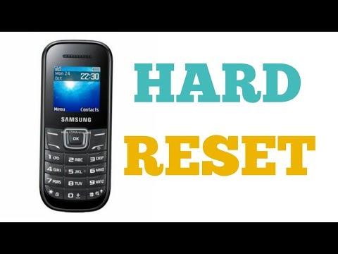 HOW TO SAMSUNG GT E 1200, E1205T, E1207Y, E1100, HARD RESET.