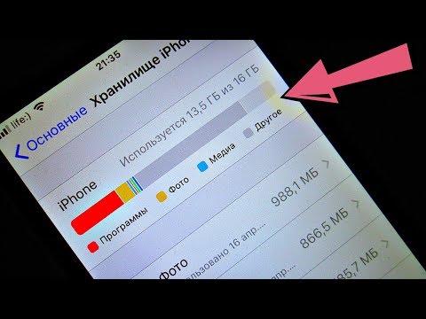 Как освободить память на айфоне?!