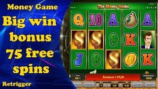 Big win Money Game. Novomatic slot.