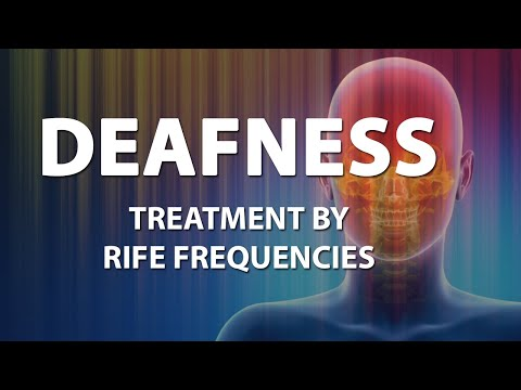 Deafness (Hearing Loss) - RIFE Frequencies Treatment - Energy & Quantum Medicine with Bioresonance