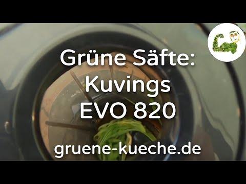 Kuvings EVO 820 Teil 2 - Entsaften mit Gräsern und Co.