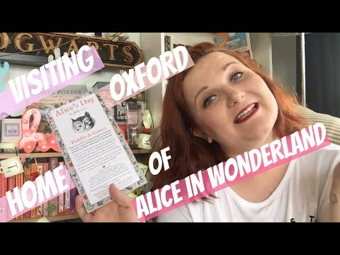 Visiting Alice in Wonderland in Oxford with LaurenandtheBooks | #Bookbreak