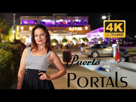 #yacht #luxury 🛥 Puerto Portals, Palma de Mallorca, Spain | Luxury Yachts travel video | Summer 19