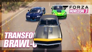 Forza Horizon 3 - Transformers Brawl-Out! (Autobots vs. Decepticons)