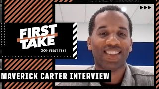 Maverick Carter on forming SpringHill Entertainment with LeBron and Kyrie's situation with the Nets