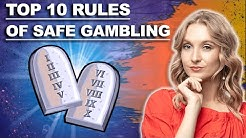 ✅Top 10 Rules of Safe Gambling | online casino tips & tricks | how to play online casino