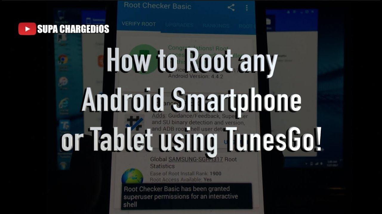 HOW TO ROOT ANY ANDROID PHONE OR TABLET - ONE CLICK ROOT (Windows & Mac)  Samsung, HTC, LG, & MORE!
