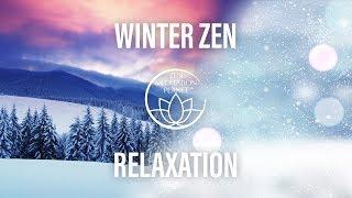 Winter Zen Relaxation – Fire, Piano & Violin Meditation Sounds – Christmas Snowy Season