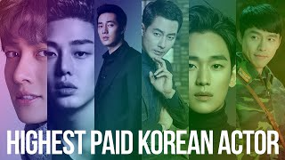 Highest Paid Korean Actors 2020 - Top 10