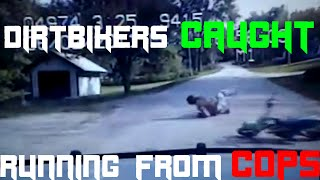 Dirtbikers run from cops and get CAUGHT! Best Police Dirtbike Chases - The Law Won - FNF