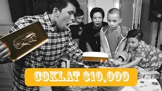 UNBOXING Chocolate $10,000 DOLAR + Giveaway