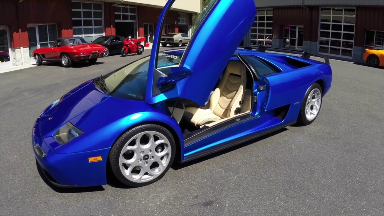 2001 Lamborghini Diablo 6 0 Vt 1 Of 1 Monterey Blue Combo Youtube