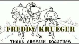 - Три богатыря против Фредди Крюгера Freddy Krueger vs Three Russian Bogaturs animation