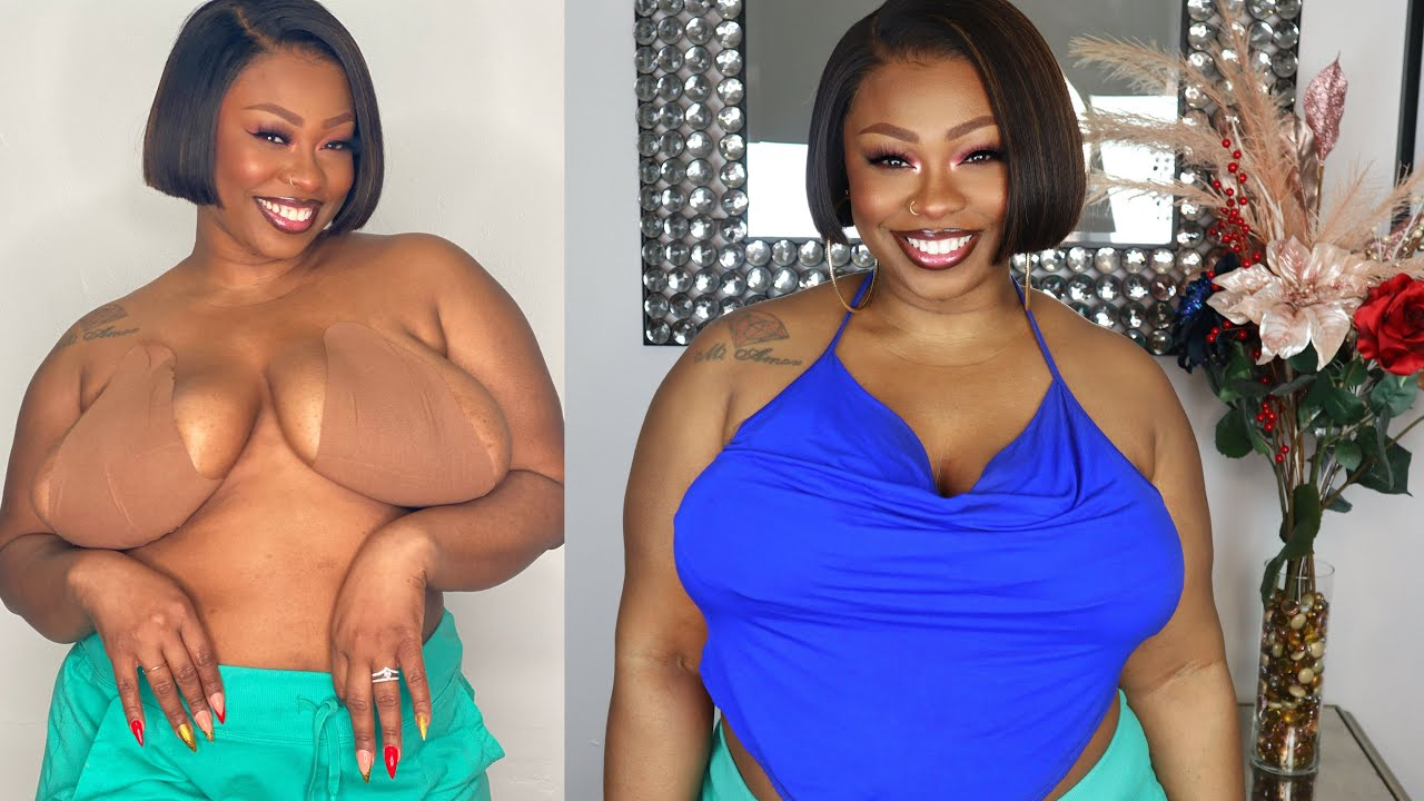 This  Bra actually works for BIG breast real Demonstration