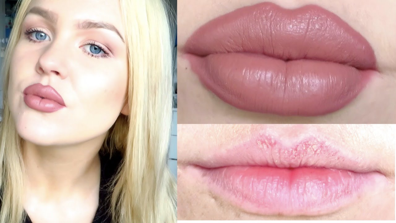 How to lipstick wear for thick lips